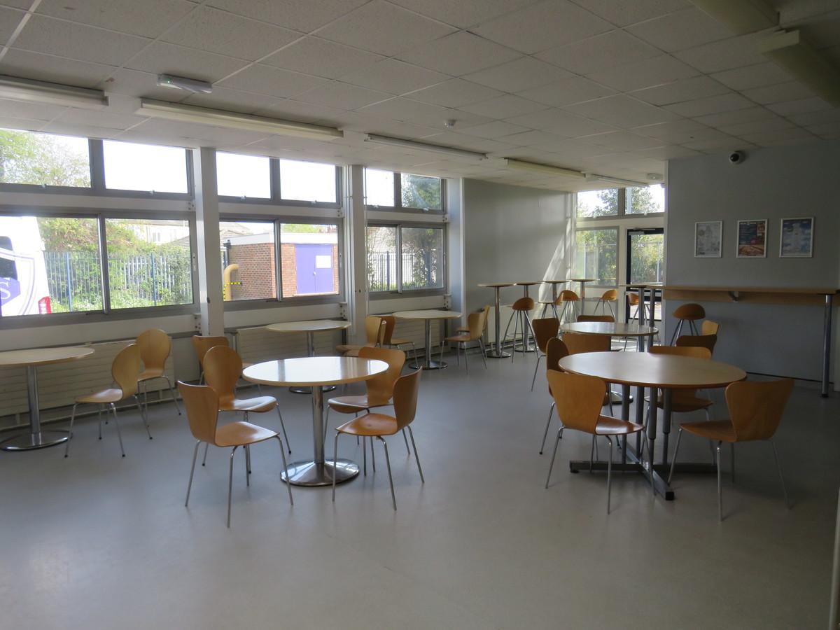 Dining Room - Portchester Community School - Hampshire - 1 - SchoolHire