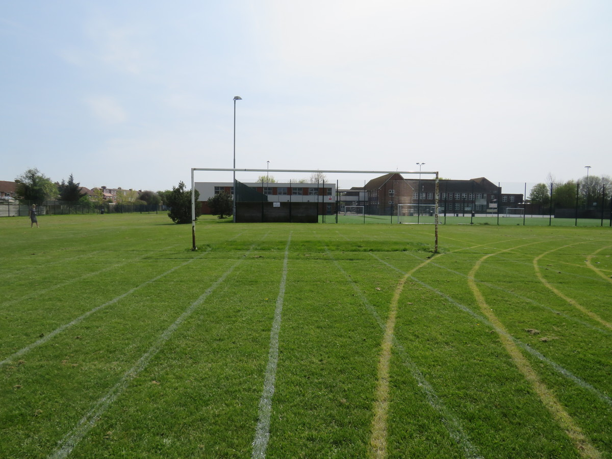 Grass Football Pitch - Portchester Community School - Hampshire - 1 - SchoolHire