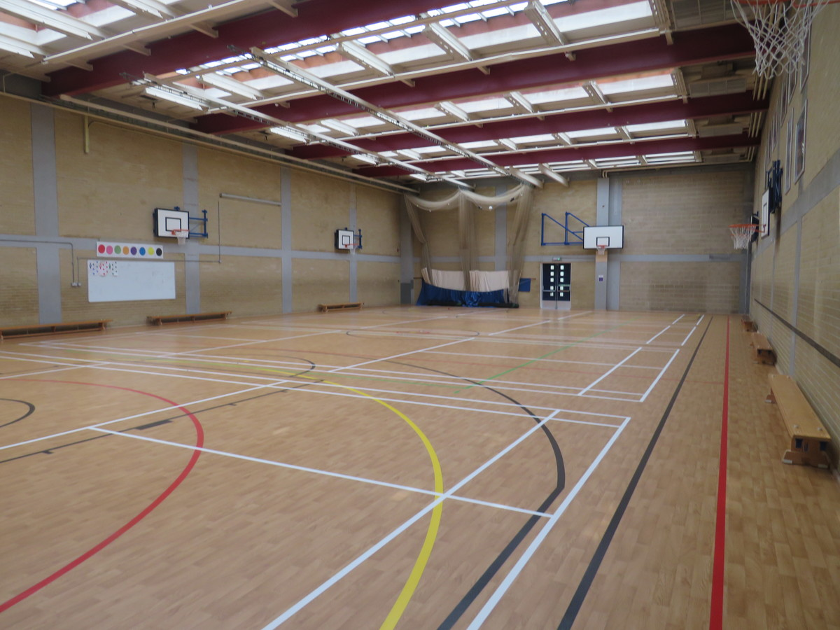 Sports Hall - Portchester Community School - Hampshire - 2 - SchoolHire