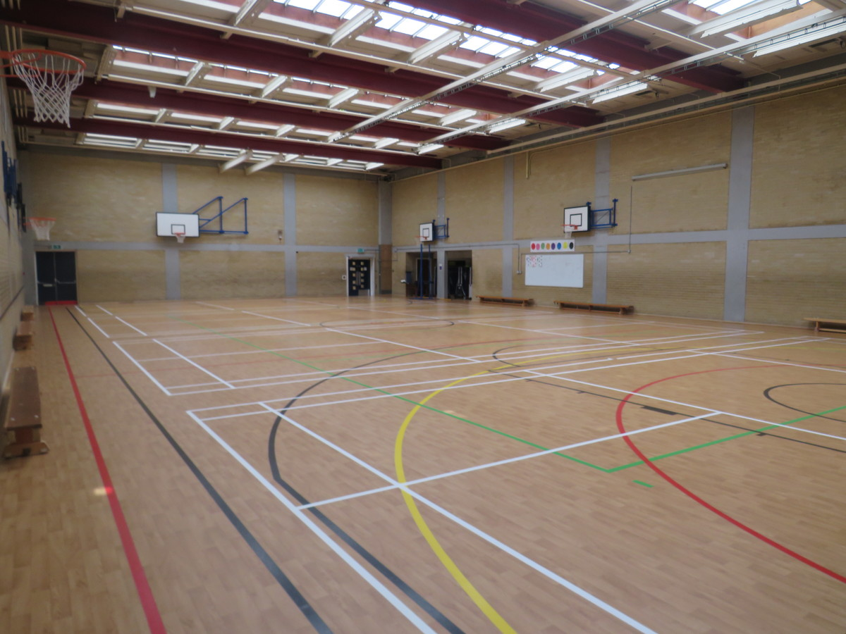Sports Hall - Portchester Community School - Hampshire - 3 - SchoolHire