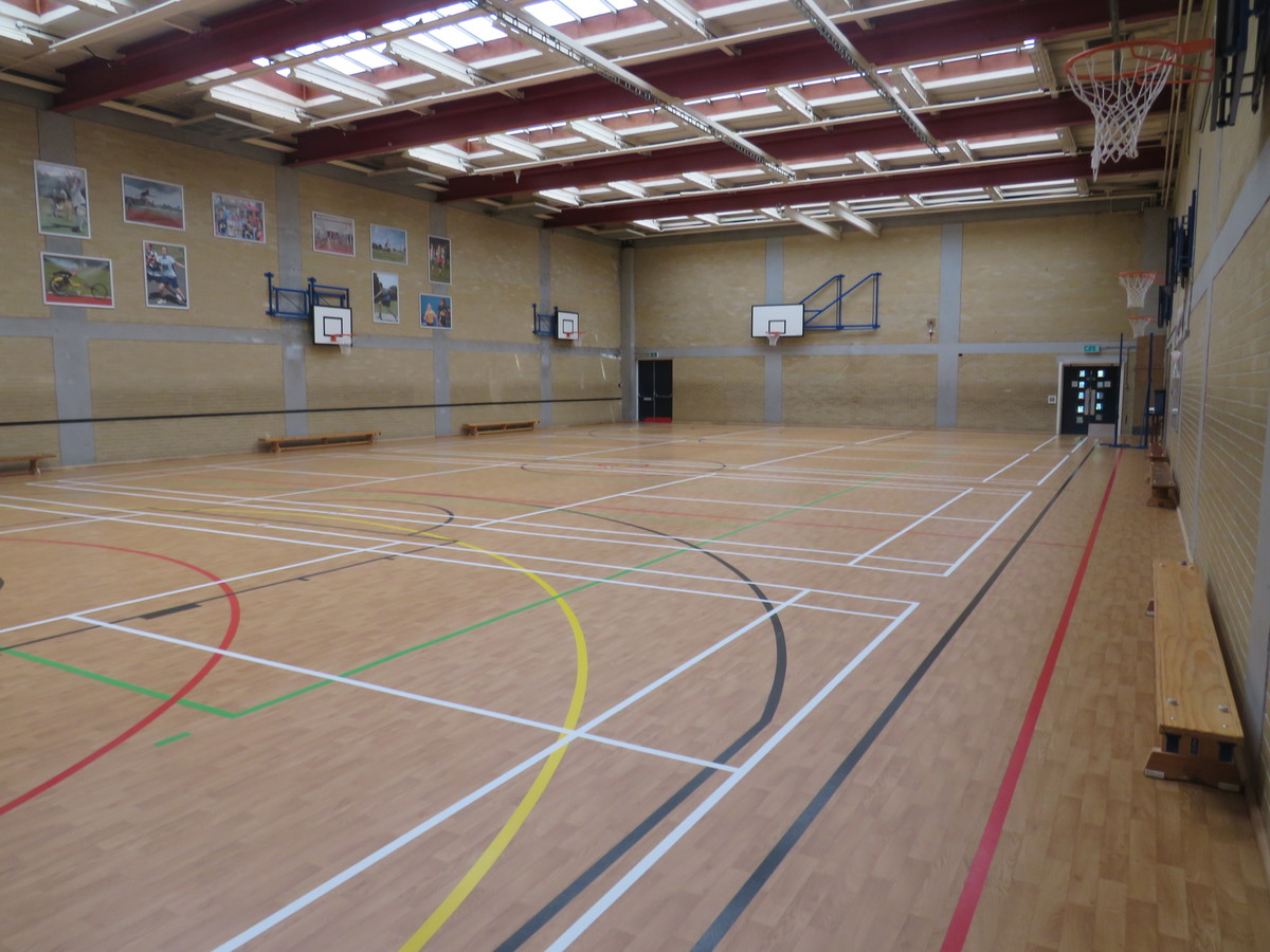 Sports Hall - Portchester Community School - Hampshire - 4 - SchoolHire