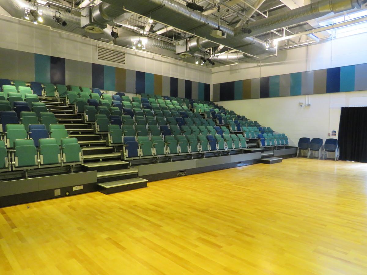 Auditorium - Heartlands High School - Haringey - 2 - SchoolHire