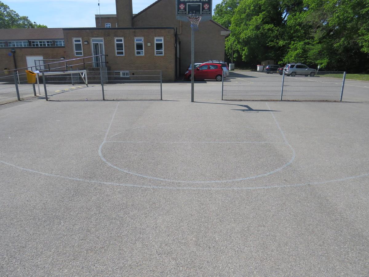 Basketball Court - Rodborough School - Surrey - 2 - SchoolHire
