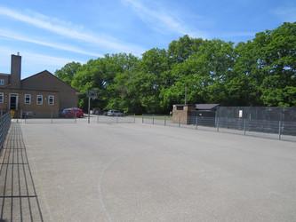 Basketball Court - Rodborough School - Surrey - 3 - SchoolHire