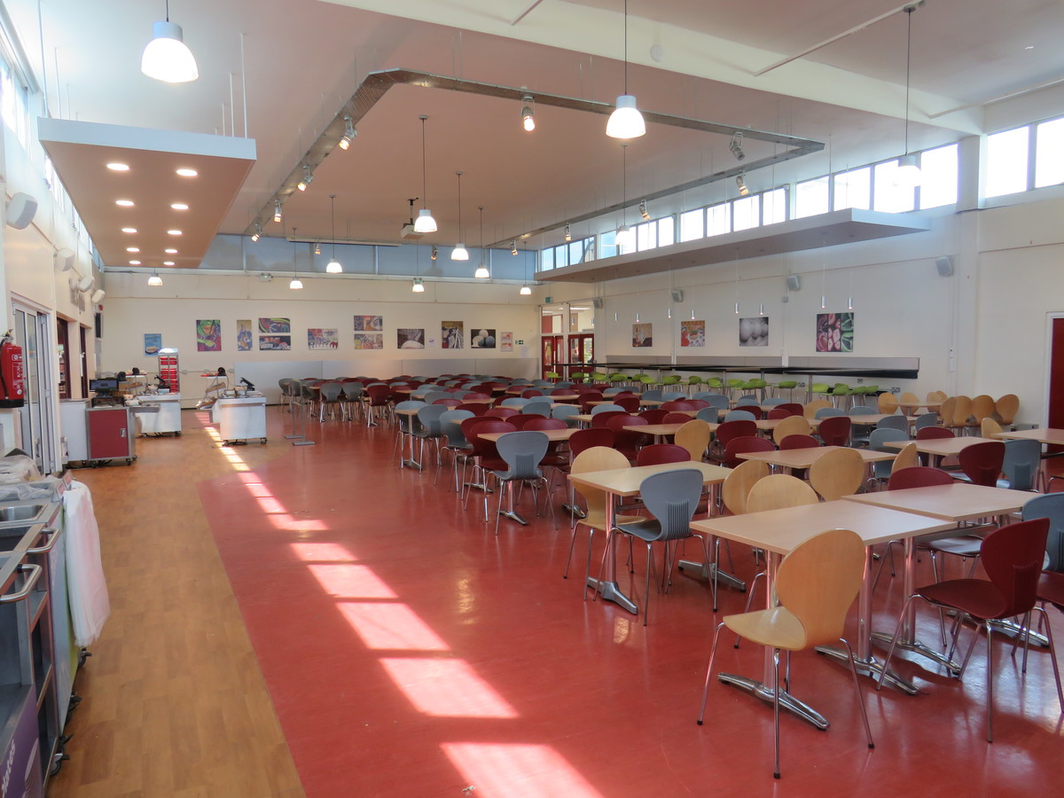 Dining Hall - Rodborough School - Surrey - 1 - SchoolHire