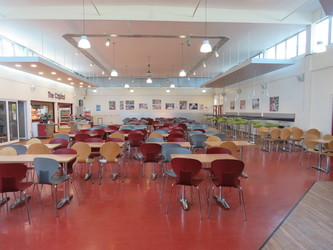 Dining Hall - Rodborough School - Surrey - 2 - SchoolHire