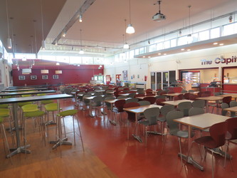 Dining Hall - Rodborough School - Surrey - 4 - SchoolHire