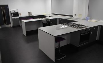 Specialist Classroom - Cookery Room  - SLS @ Ark All Saints Academy - Southwark - 1 - SchoolHire