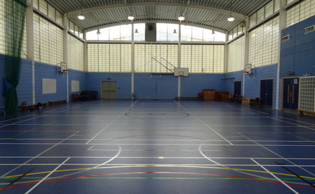 Sports Hall  - SLS @ Ark Burlington Danes Academy - Hammersmith and Fulham - 1 - SchoolHire