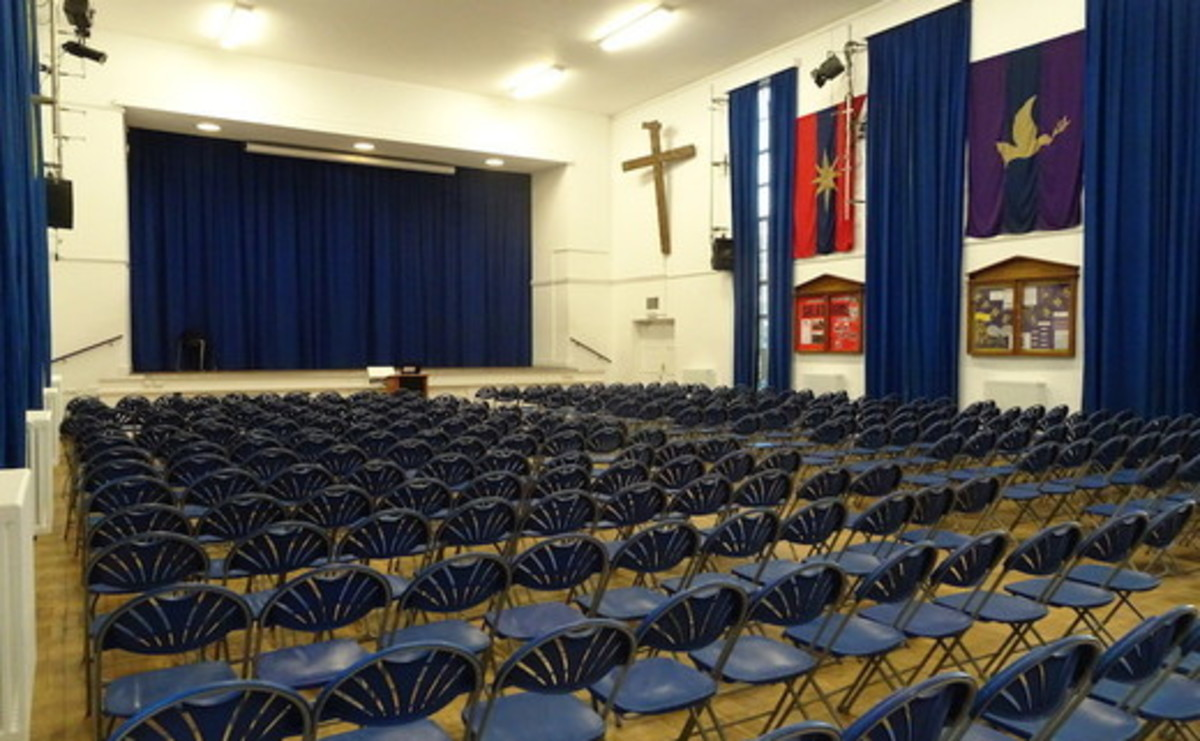 Main Hall  - SLS @ Ark Burlington Danes Academy - Hammersmith and Fulham - 1 - SchoolHire