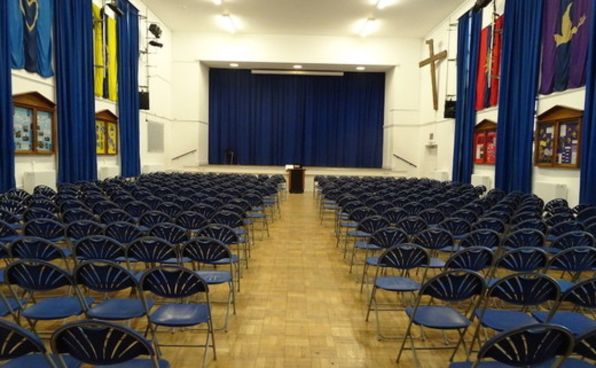 Main Hall  - SLS @ Ark Burlington Danes Academy - Hammersmith and Fulham - 2 - SchoolHire