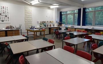 Specialist Classroom - Art Room  - SLS @ Ark Burlington Danes Academy - Hammersmith and Fulham - 1 - SchoolHire
