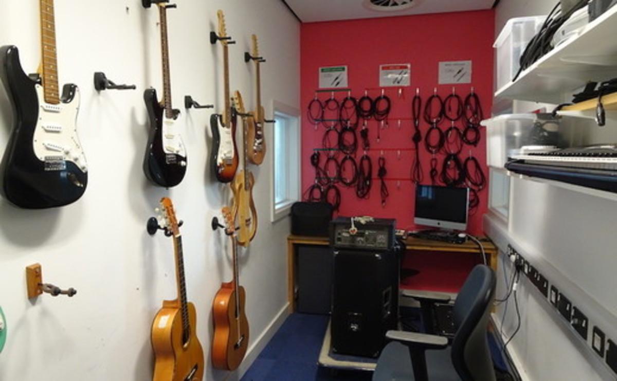 Specialist Classroom - Recording Studio  - SLS @ Ark Burlington Danes Academy - Hammersmith and Fulham - 1 - SchoolHire