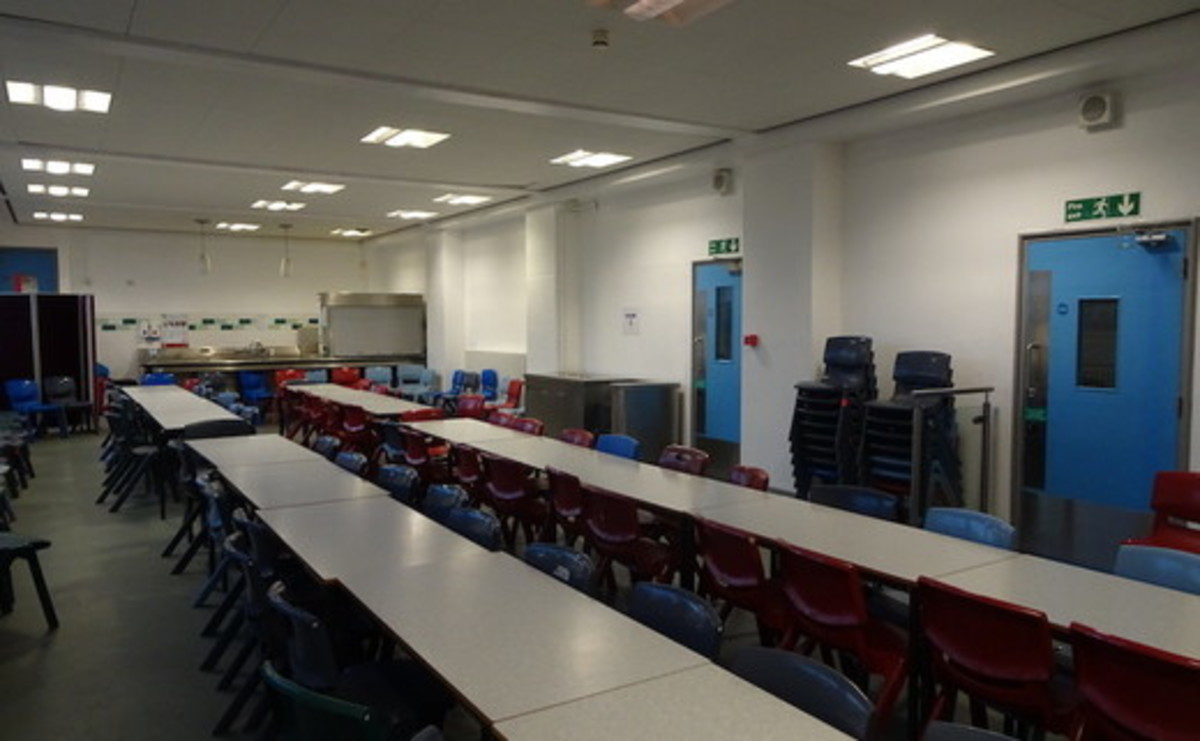 Dining Room  - SLS @ Ark Burlington Danes Academy - Hammersmith and Fulham - 2 - SchoolHire