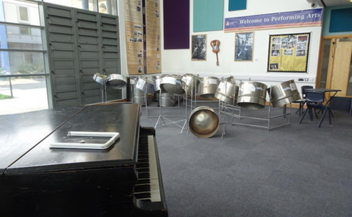 Atrium - Performing Arts Atrium  - SLS @ Ark Burlington Danes Academy - Hammersmith and Fulham - 1 - SchoolHire