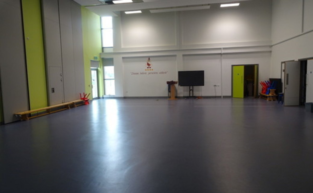 Main Hall - Large Primary Hall  - SLS @ Ark Burlington Danes Academy - Hammersmith and Fulham - 1 - SchoolHire