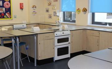 Specialist Classroom - Cookery Room - SLS @ Barnsley Academy - Barnsley - 1 - SchoolHire