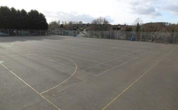 Tarmac Area - Netball  - SLS @ Bartley Green School - Birmingham - 1 - SchoolHire
