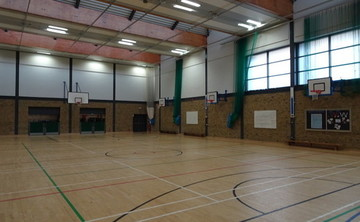 Sports Hall - SLS @ Bishop Challoner Catholic Federation of Schools - Tower Hamlets - 1 - SchoolHire