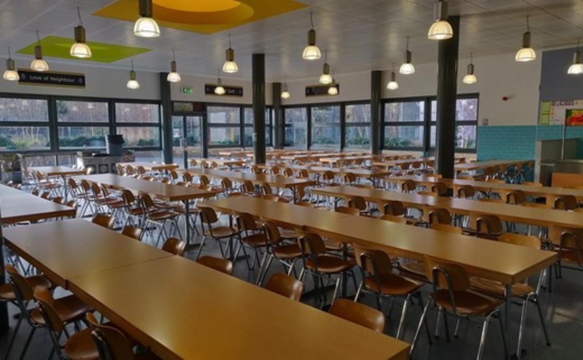 Dining Room - SLS @ Bishop Challoner Catholic Federation of Schools - Tower Hamlets - 1 - SchoolHire