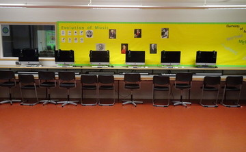 Specialist Classroom - Music Room - SLS @ Bishop Challoner Catholic Federation of Schools - Tower Hamlets - 2 - SchoolHire