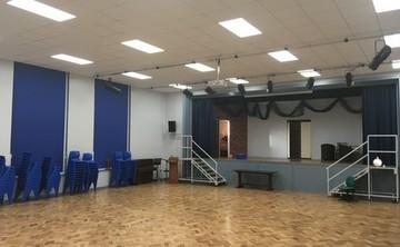 Main Hall - SLS @ Bishop Rawstorne CE Academy - Lancashire - 1 - SchoolHire