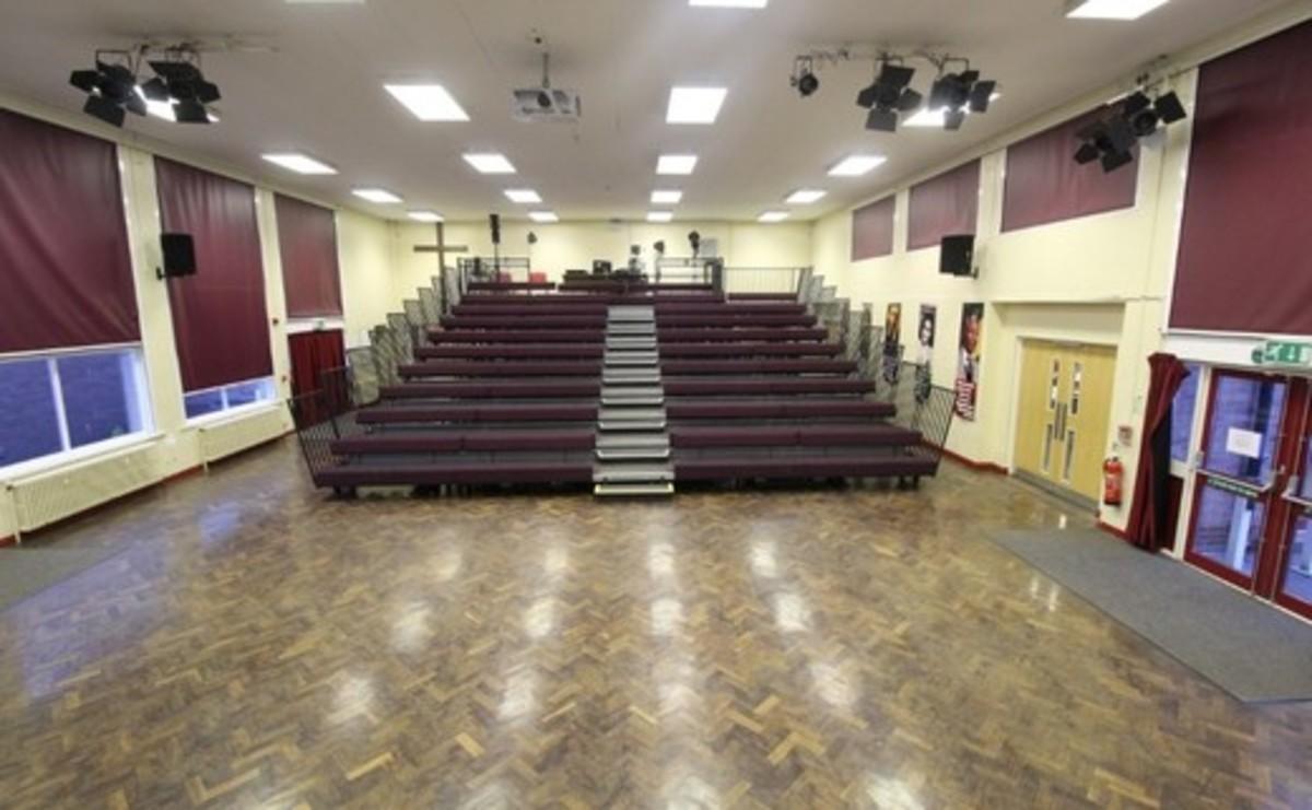 Main Hall - SLS @ Blessed Robert Sutton Catholic Voluntary Academy - Staffordshire - 2 - SchoolHire