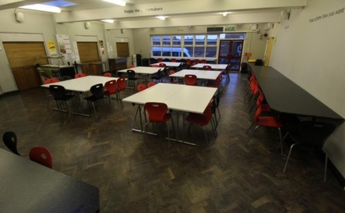 Dining Room - SLS @ Blessed Robert Sutton Catholic Voluntary Academy - Staffordshire - 1 - SchoolHire