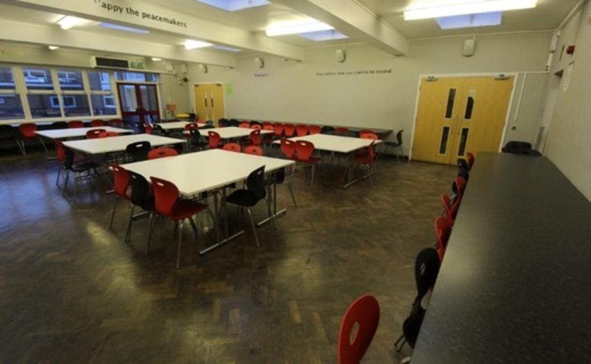 Dining Room - SLS @ Blessed Robert Sutton Catholic Voluntary Academy - Staffordshire - 2 - SchoolHire