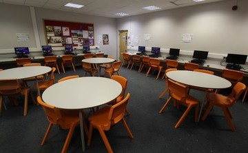 Specialist Classroom - IT Suite - SLS @ Blessed Robert Sutton Catholic Voluntary Academy - Staffordshire - 1 - SchoolHire