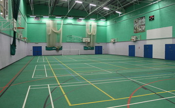 Sports Hall - SLS @ Blessed Trinity RC College - Lancashire - 2 - SchoolHire