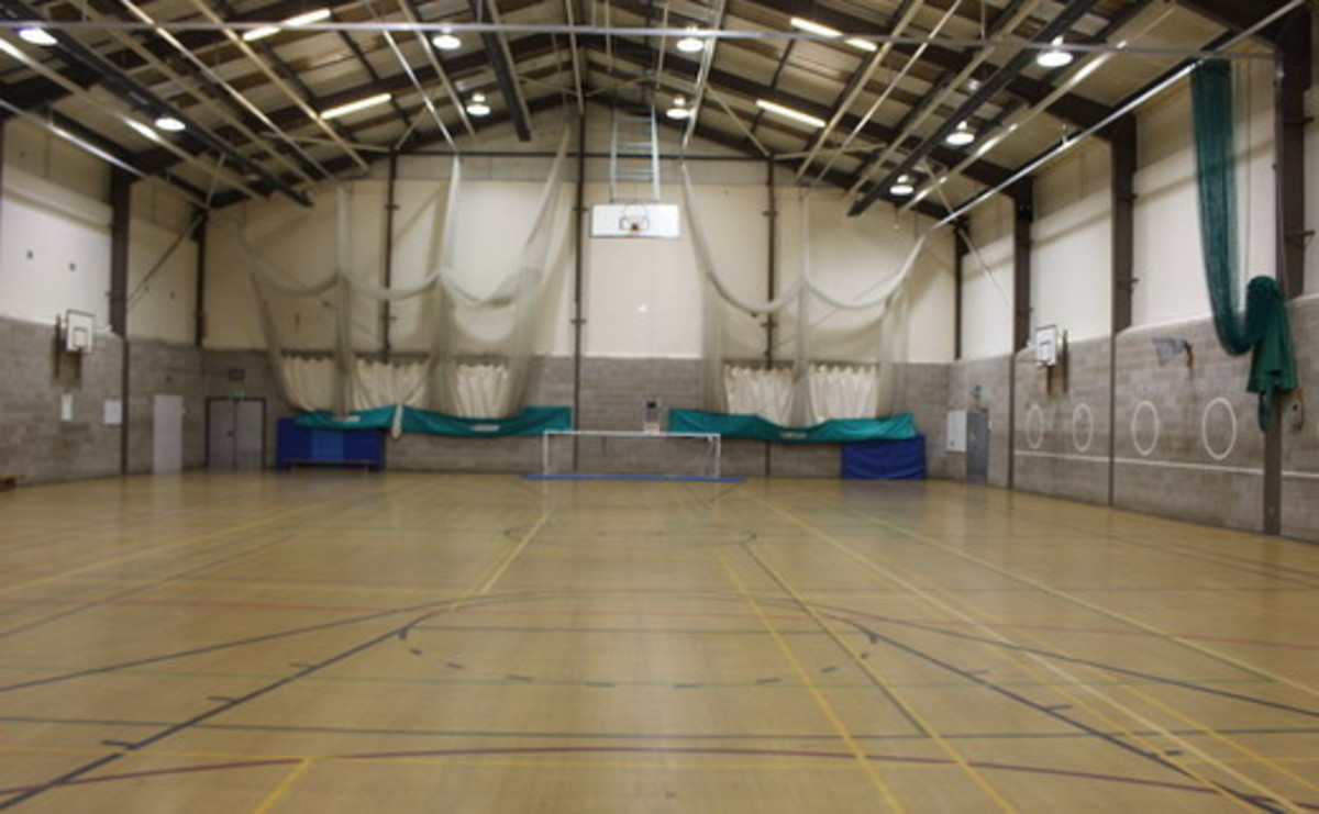 Sports Hall - SLS @ Boroughbridge High School - North Yorkshire - 1 - SchoolHire