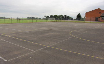 Tarmac Area - Multi-Use Game Area - SLS @ Boroughbridge High School - North Yorkshire - 1 - SchoolHire