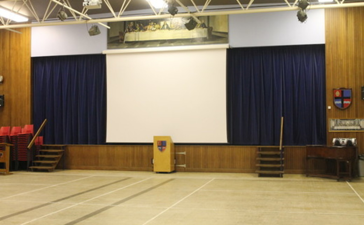 Main Hall  - SLS @ Cardinal Allen Catholic High School - Lancashire - 1 - SchoolHire