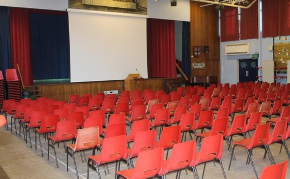 Main Hall  - SLS @ Cardinal Allen Catholic High School - Lancashire - 2 - SchoolHire
