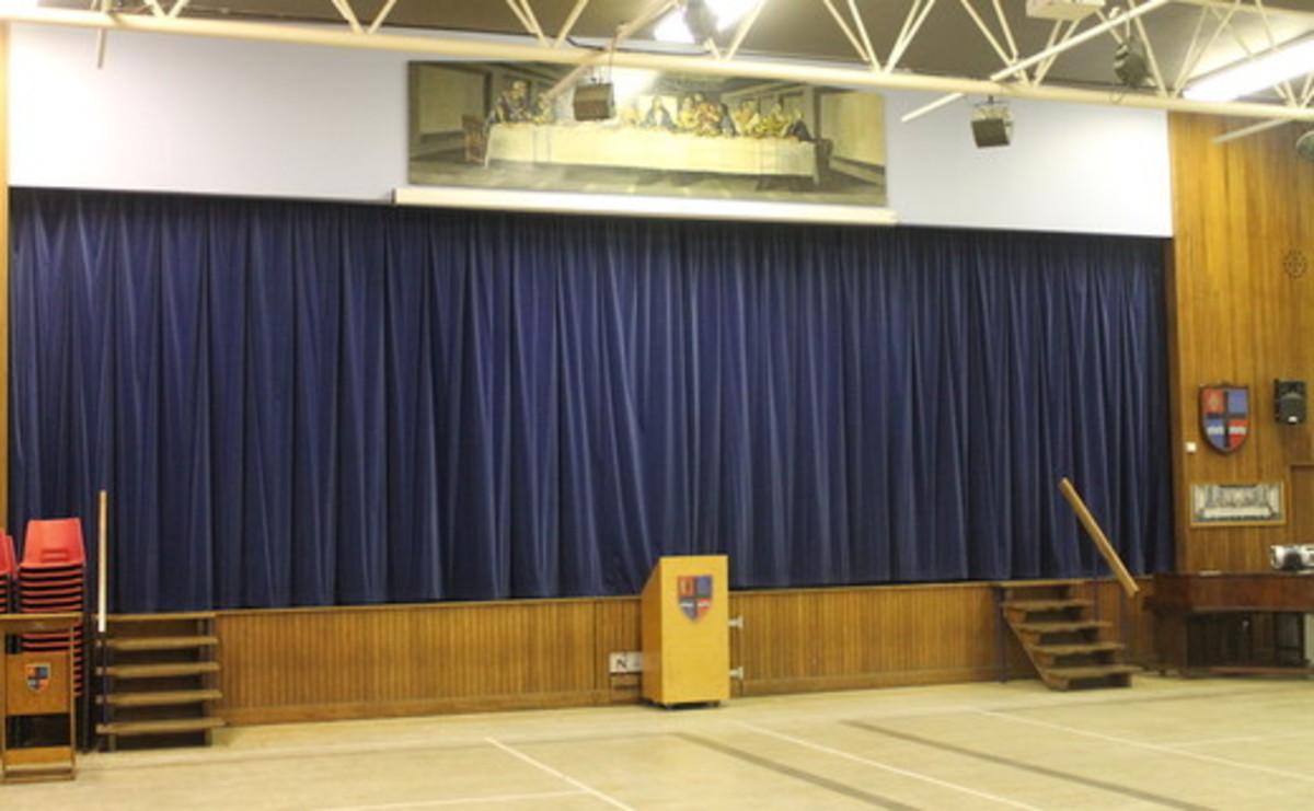 Main Hall  - SLS @ Cardinal Allen Catholic High School - Lancashire - 3 - SchoolHire