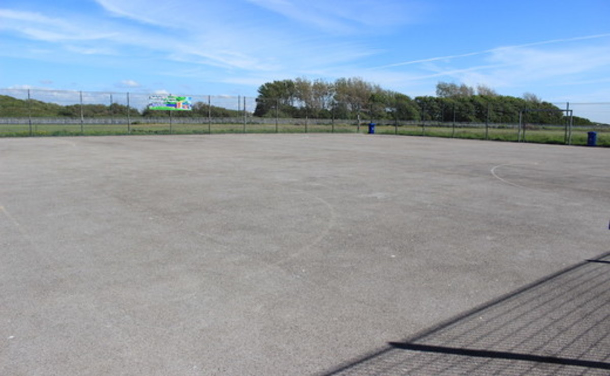 Tarmac Multi-Use Games Area - SLS @ Cardinal Allen Catholic High School - Lancashire - 2 - SchoolHire