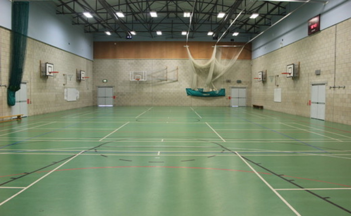 Sports Hall - SLS @ Chorlton High School - Manchester - 1 - SchoolHire