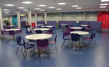 Dining Room - SLS @ Chorlton High School - Manchester - 1 - SchoolHire