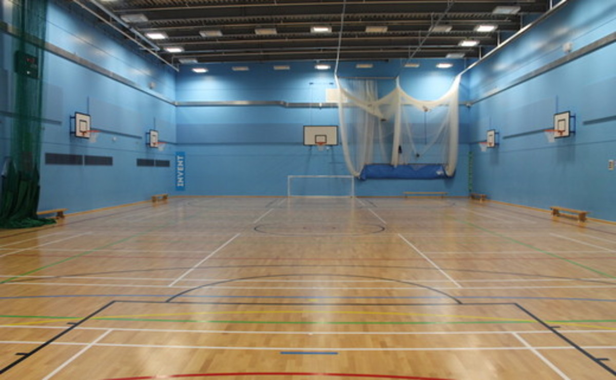 Sports Hall - Ground Floor - SLS @ Crest Academy - Brent - 1 - SchoolHire