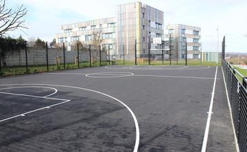 Tarmac Area - Outdoor Basketball Court  - SLS @ Crest Academy - Brent - 1 - SchoolHire