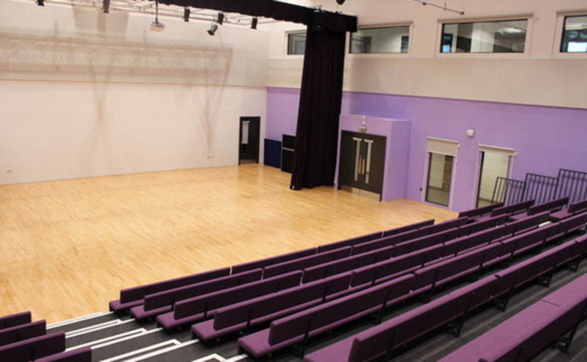 Main Hall - SLS @ Dixons Cottingley Academy - West Yorkshire - 1 - SchoolHire