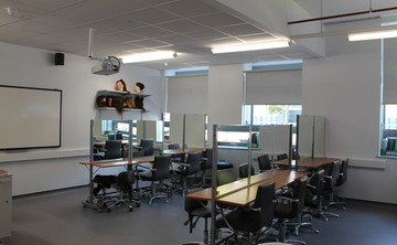 Specialist Classroom - Hair and Beauty Salon - SLS @ Duchesss Community High School - Northumberland - 1 - SchoolHire