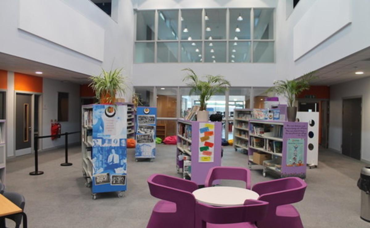 Specialist Classroom - Library - SLS @ Duchesss Community High School - Northumberland - 1 - SchoolHire