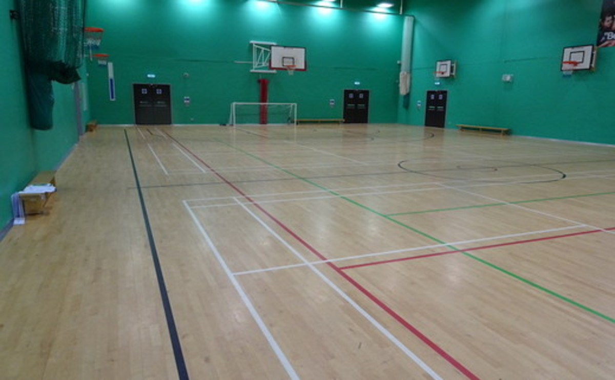 Sports Hall - SLS @ East Manchester Academy - Manchester - 1 - SchoolHire