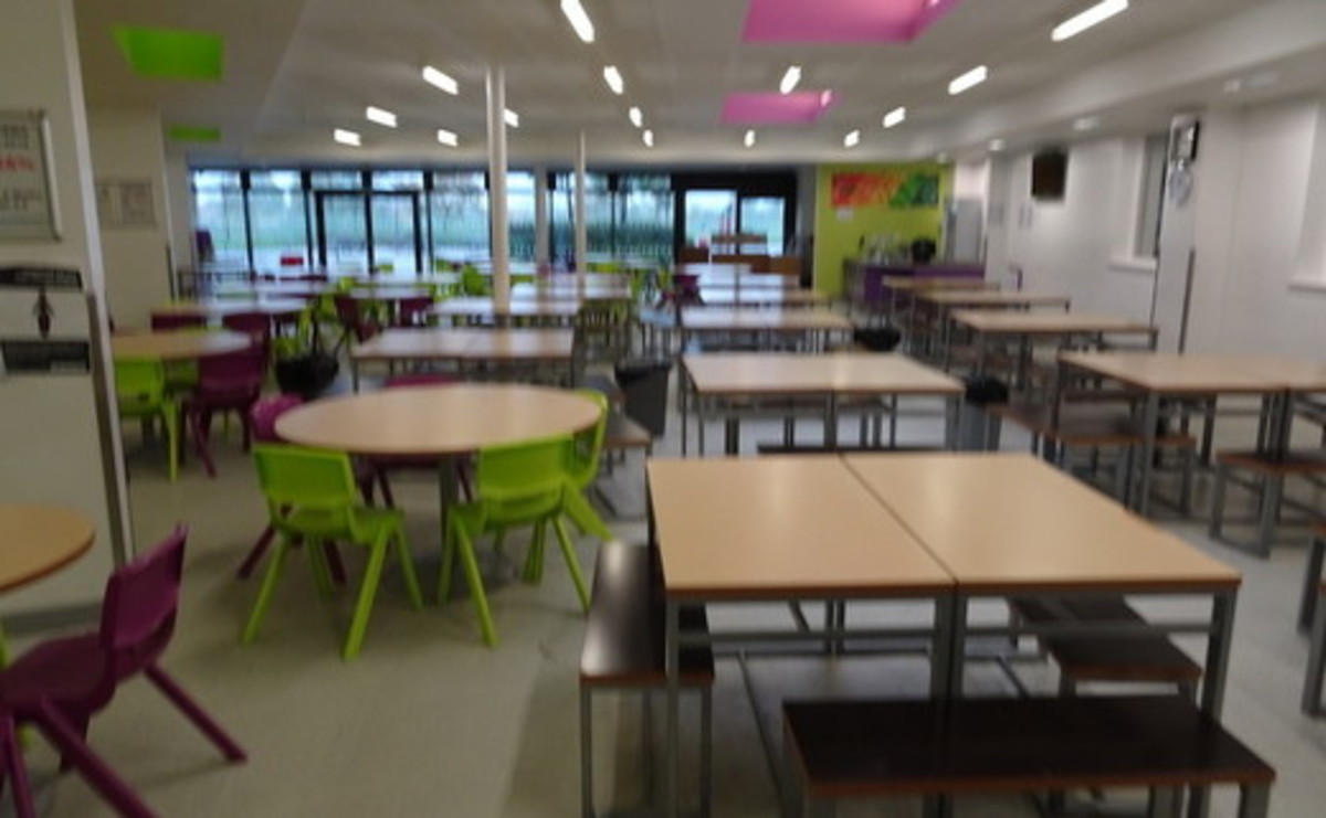 Dining Room - SLS @ East Manchester Academy - Manchester - 1 - SchoolHire