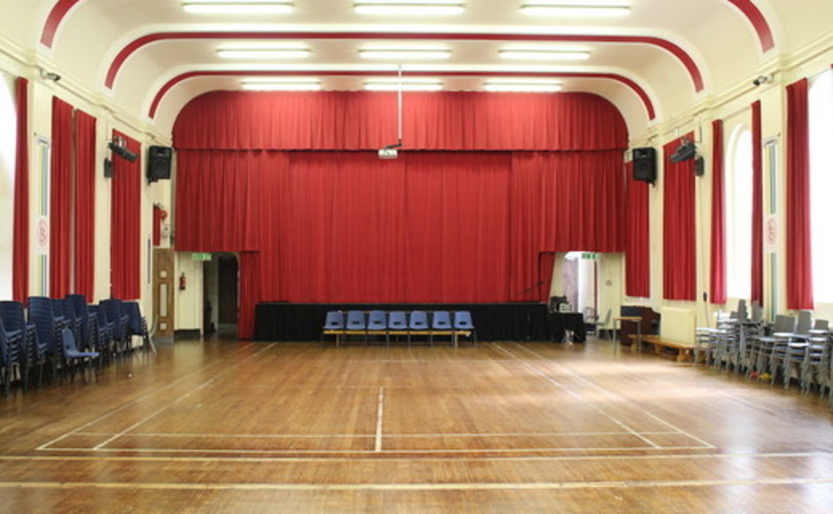 Main Hall  - SLS @ Flixton Girls School - Manchester - 1 - SchoolHire