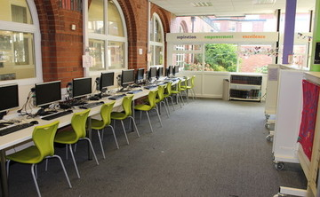 Library  - SLS @ Flixton Girls School - Manchester - 2 - SchoolHire