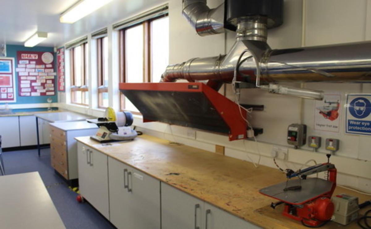 Design Technology Room - SLS @ Flixton Girls School - Manchester - 1 - SchoolHire