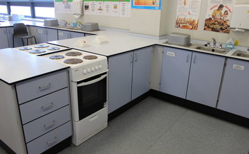 Specialist Classrooms - Cookery Room  - SLS @ Freebrough Academy - North Yorkshire - 1 - SchoolHire